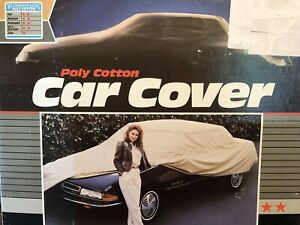 Covercraft Poly Cotton Car Cover Tan Color Size Small
