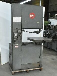 Grob 24 Vertical Band Saw ctam 4905