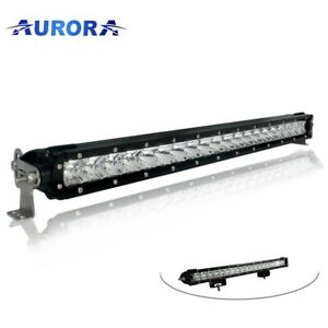 Aurora 30 Inch Led Single Row Off Road Light Bar Combo 150 Watt truck Wrangler