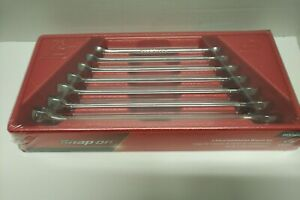 Snap On 7 Pc 12 Point Combination Wrench Set 3 8 3 4 Oex707b