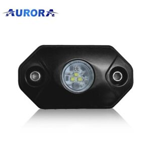 Aurora Rock Lights red Cree Leds 6 Watts Total 2 Pack