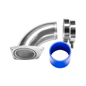 Cxr Cold Intake Charge Pipe Kit For 03 07 Ford 6 0l Powerstroke Diesel F250 F350
