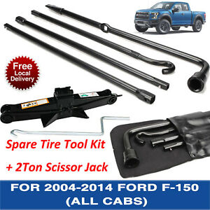 Jack Spare Tire Tool Kit For 2005 2006 2008 2010 2011 2012 2013 2014 Ford F 150
