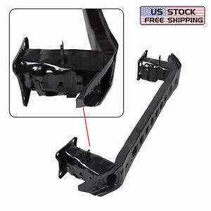 New Front Bumper Reinforcement For 2012 14 Ford Focus Steel Black