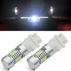 2x 3157 3156 Cree Led Back Up Reverse Light Signal Bulb For 1991 2018 Ford F 150