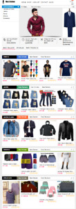 Ready Made Dropshipping Website Free Hosting Set Up Men s Clothes