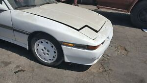 1989 Toyota Supra Mk3 Complete Front End With Fenders Hood Used