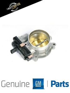 New Gm Oem Fuel Injection Throttle Body Fits 2014 2018 Chevrolet Gmc