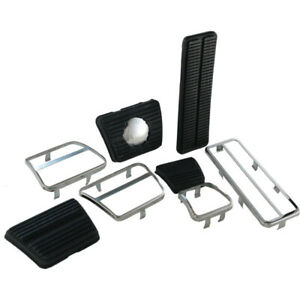 Camaro Pedal Pad Kit For Cars With Disc Brakes Manual Transmission With 3