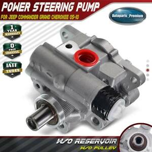 Power Steering Pump W O Pulley For Jeep Commander Grand Cherokee 03 06 21 5438