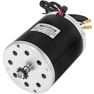 36v Dc Electric Motor E scooter 1000w Ty1020 3000rpm Mini Bike Permanent Brushed