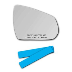 S d338r Mirror Glass Lens For 2010 2016 Cadillac Srx Passenger Side View Right R