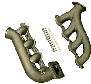 For Chevy Gm Ls Turbo Exhaust Hotparts T4 Kit Vortec 4 8 5 3 6 0 Lsx Manifolds