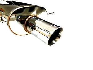 Stainless Maximizer Exhaust System For 1997 To 2005 Subaru Impreza 2 5rs Ej25