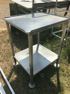 Stainless Steel 25 5 X 22 25 Commercial Heavy Duty Food Prep Work Slicer Stand