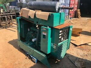 Onan Genset 45em Natural Gas Standby 45 Kw Commercial Generator 1209 Hours