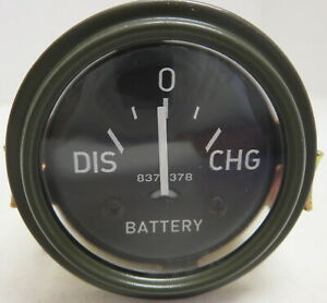 Military Willys Jeep M38 M38a1 G758 Dodge M37 G741 24 Volt Ammeter Amp Gauge