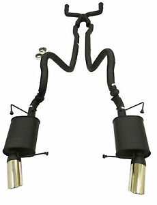 Maximizer Cat Back Exhaust System Fits 2011 To 2013 Ford Mustang Gt 5 0l
