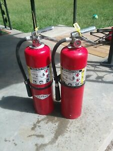 Amerex 10lbs Abc Dry Chemical Fire Extinguisher Used But Have Been Tested