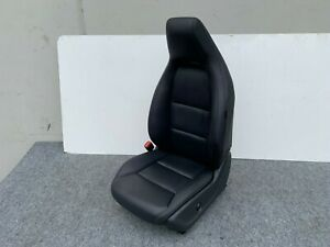 14 19 Mercedes Cla250 W117 Front Left Leather Seat Assembly Complete Oem Black