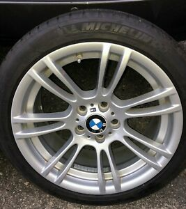Bmw E82 E92 1m M3 Oem Alloy M Wheels Style 270m With Michelin Winter Tires