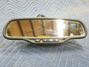 2003 06 Silverado Tahoe Suburban Sierra Compass Temp Rear View Mirror 15176973
