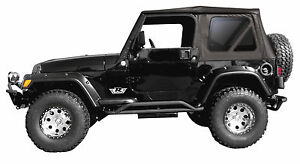 Replacement Soft Top Tinted Windows Rampage 99335 1997 06 For Jeep Wrangler