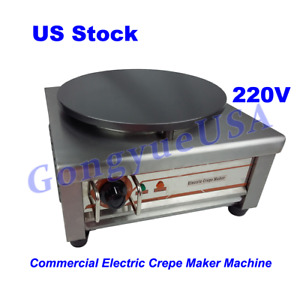 Electric Crepe Maker Machine Commercial Pancake Kitchen Maker 400mm 15 75in
