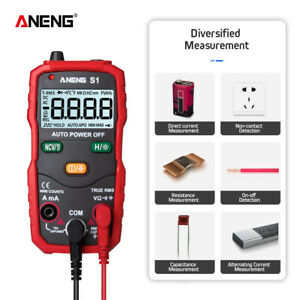 Auto Ranging 4000 Digital Multimeter True Multi Tester Ac dc Meter Back Light