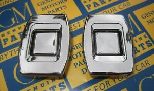 1969 1972 Skylark Gs Cutlass 442 Malibu Gto Gm Bucket Seat Back Lock Buttons 2