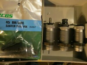RCBS 3 DIE CARBIDE TC Set 45 ACP AR GAP 18915