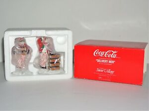 "DEPARTMENT DEPT 56 SNOW VILLAGE ""COCA-COLA DELIVERY MEN"" (5480-1)"