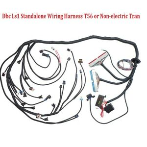 Dbc Ls1 Standalone Wiring Harness T56 Non electric Tran 4 8 5 3 6 0 1997 2006