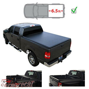 Soft Roll up Truck 6 5 Bed Tonneau Cover For Ford F250 F350 Super Duty 99 16