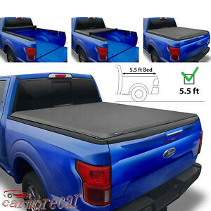 5 5 Roll Up Truck Bed Tonneau Cover 5 5ft Short Bed For Ford F150 2015 2018