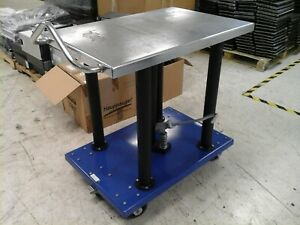 Vestil Manual Hydraulic Post Table 2000 lb Cap