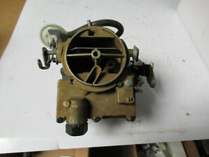 Holley Carburetor 64 7174 Reman Rochester 2 Barrel Single Inlet Checker Chevy
