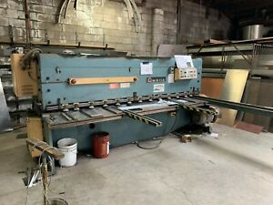 Amada M3060 1 4 X 10 Foot Mechanical Shear