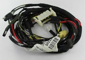 New 1971 Dodge Charger Forward Lamp Harness W o Hidden H l W o Fender Top T s