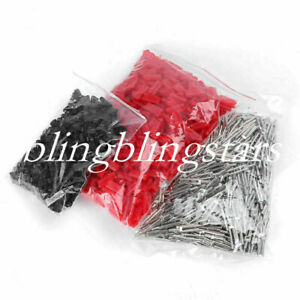 1000 Pcs Dental 21mm Master Twin Double Ii Pins Plastic Sleeves Lab Supplies