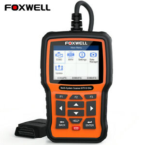 Foxwell Nt510 Elite For Bmw Diagnostic Scanner Tool Abs Srs Full System Tester