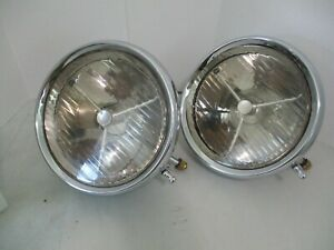Lucas P100 S Headlights Rolls Royce Phantom Ii Bentley Aston Martin Lagonda