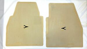 1955 1962 Plymouth Dodge Desoto Chrysler Imperial Front Floor Mats Forward Look