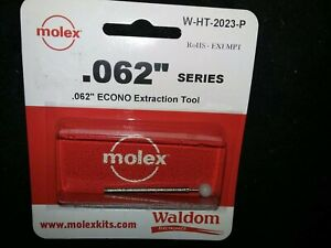 Molex Waldom W ht 2023 Extraction Tool 062 Series