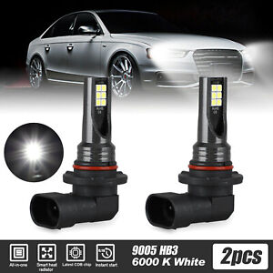 9005 9145 Led Headlight Kit 1500w 225000lm High Low Fog Bulb Hb3 H10 6000k White