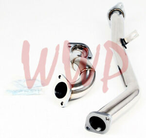 Stainless Steel Down Downpipe Over Pipe For 13 16 Scion Frs Fr s Subaru Brz