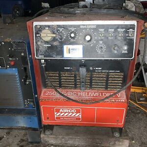 Airco 250 Amp Ac dc Heliwelder V Square Wave Power Source local Pick Up Only
