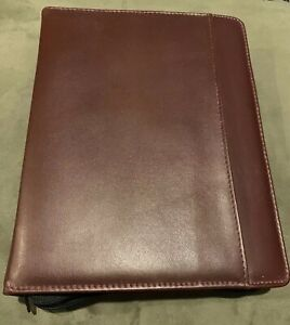 Vtg Day Runner Day Timer 3 Ring Planner 171 60 Leather Classic Edition 114 60