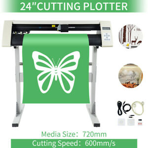 24 Plotter Vinyl Printer Cutter Sign Making Machine Cutting Size 600mm Rs720c