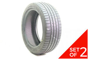 Set Of 2 Used 225 45zr17 Michelin Pilot Sport A s 3 91y 7 5 32